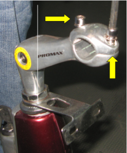Montaje y ajuste del manubrio