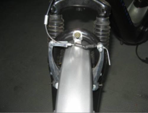 Calibracion y ajuste de los frenos delanteros